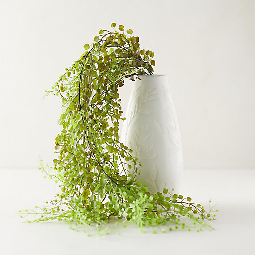 View larger image of Faux Leafy Hanging Plant