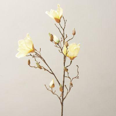 Faux Magnolia Blossom Spray