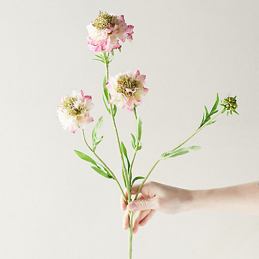 View larger image of Faux Scabiosa Spray, Purple