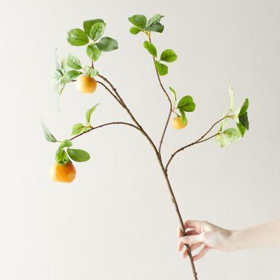 Faux Orange Tree Branch
