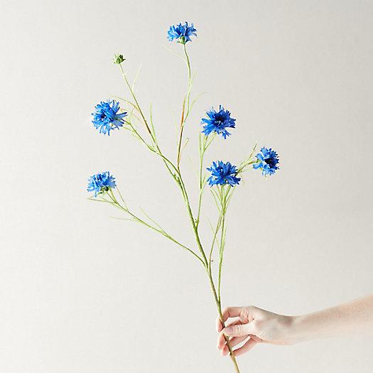 View larger image of Faux Cornflower Blue Stem
