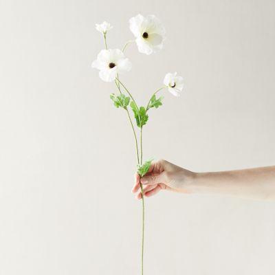 Faux Ranunculus Spray