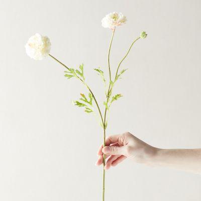 Faux Ranunculus Flower