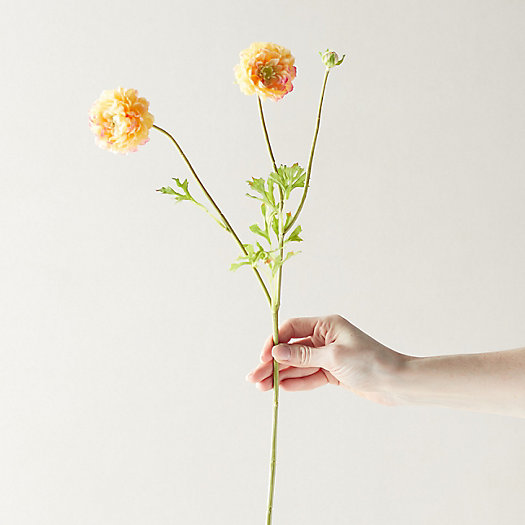 View larger image of Faux Ranunculus Flower