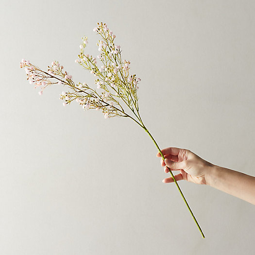 View larger image of Faux Gypsophila Spray, Pink