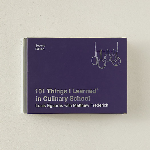 View larger image of 101 Things I Learned in Culinary School