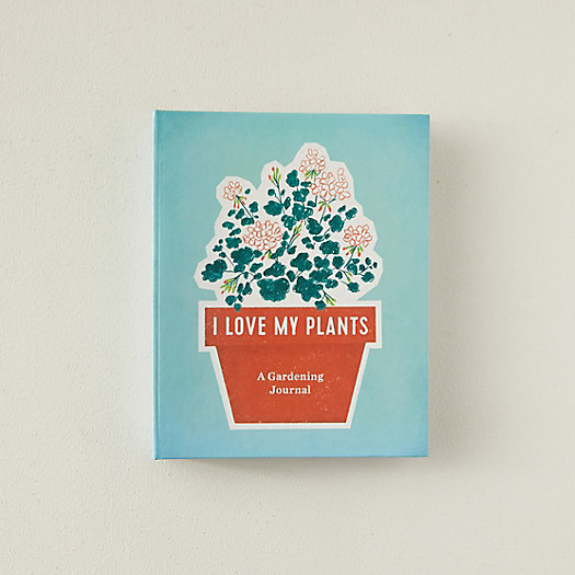 View larger image of I Love My Plants: A Gardening Journal