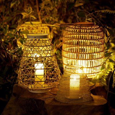 Woven Oasis Lantern