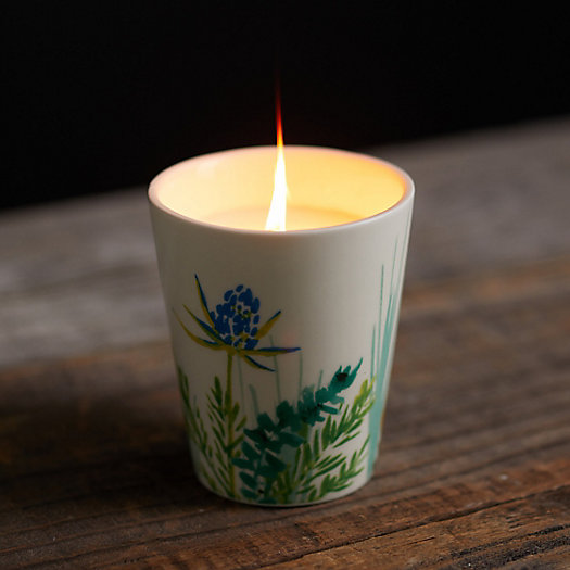 View larger image of Painted Botanicals Candle, Blossom Citronella