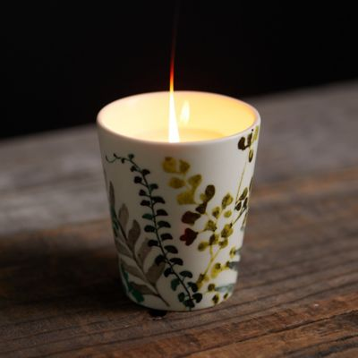 Painted Botanicals Candle, Blossom Citronella