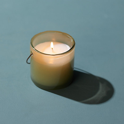 View larger image of Small Hanging Glass Candle, Eucalyptus Citronella