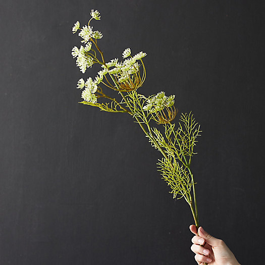 View larger image of Faux Queen Anne's Lace Spray