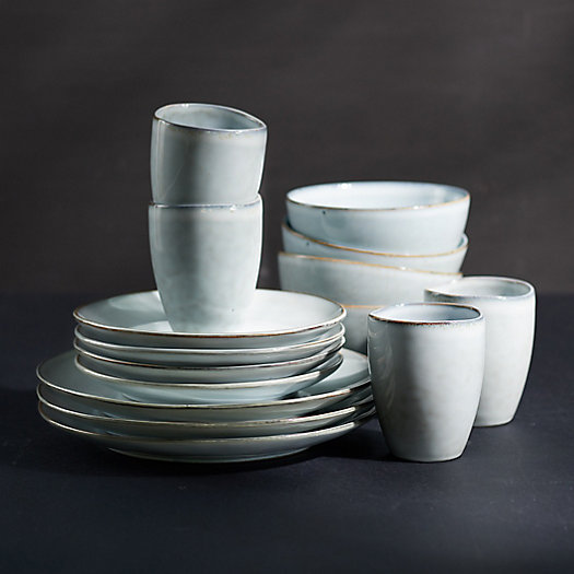 View larger image of Ceramic Dinnerware Set for Four, 16 Pieces