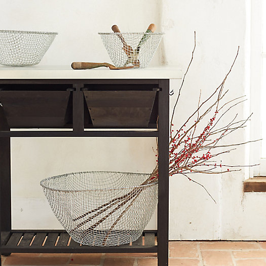 View larger image of Woven Wire Storage Basket