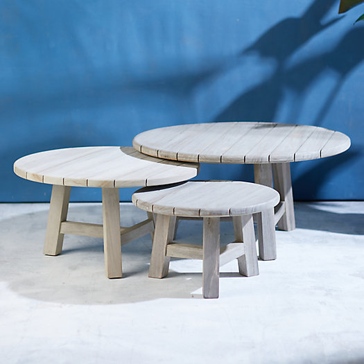 View larger image of Teak Nesting Table