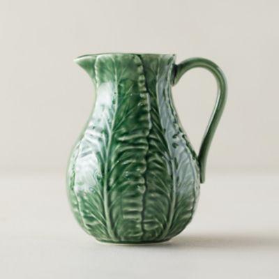 Ceramic Cabbage Pitcher