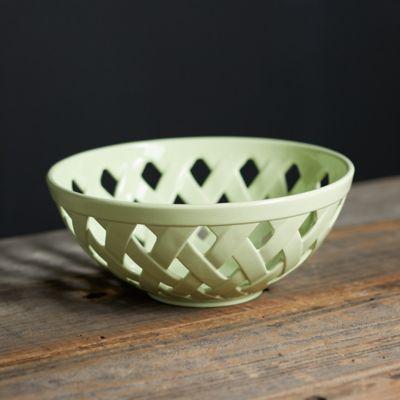 Ceramic Basket Bowl
