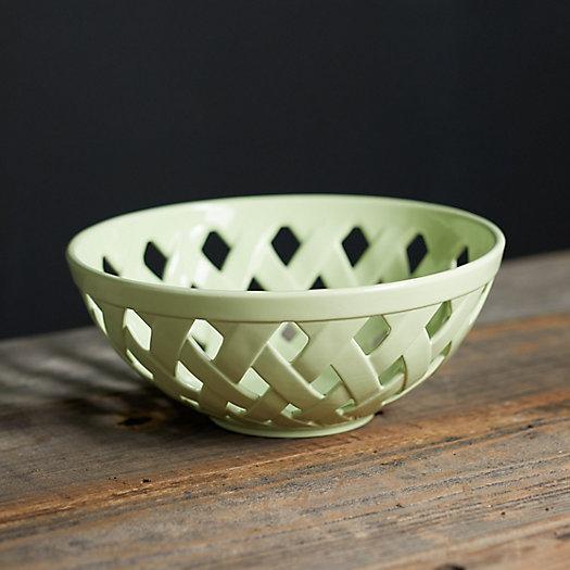 View larger image of Ceramic Basket Bowl