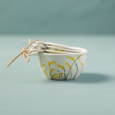 Goldenrod Ceramic Measuring Cups