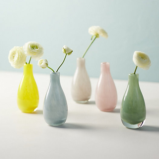 View larger image of Swirled Movement Glass Bud Vase, Tall