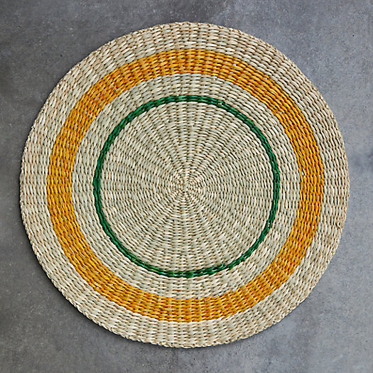 View larger image of Striped Seagrass Charger