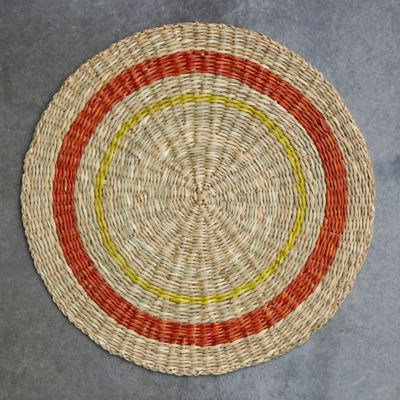 Striped Seagrass Charger