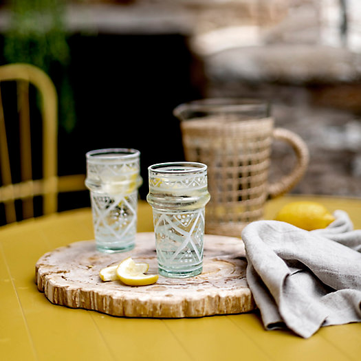 View larger image of Painted Moroccan Glasses, Set of 6