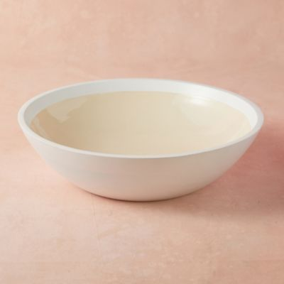 Wood + Enamel Bowl