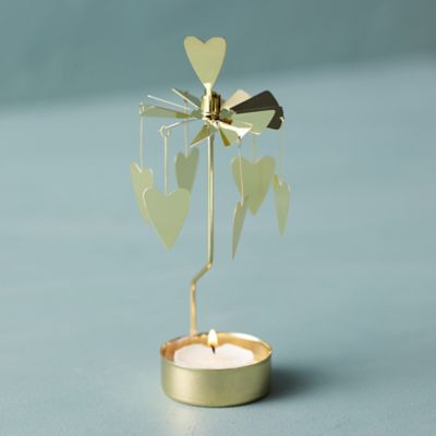 Hearts Rotary Candle