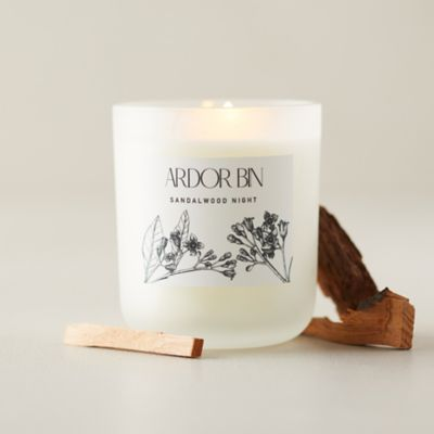 Ardor Bin Candle, Sandalwood Night