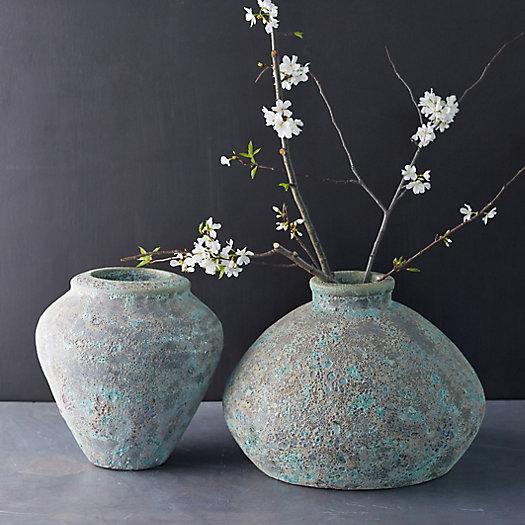 View larger image of Speckled Concrete Urn Vase