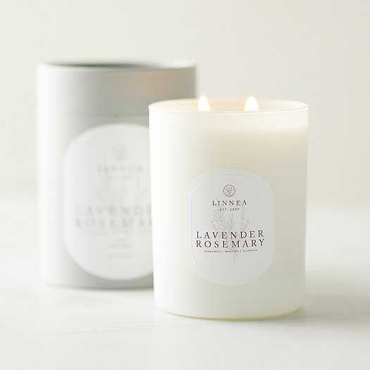 View larger image of Linnea Candle, Lavender Rosemary