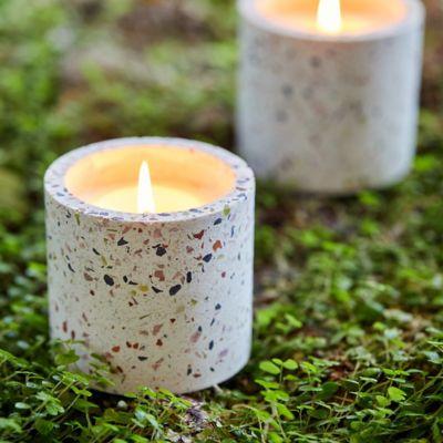 Linnea Terrazzo Candle, Mint