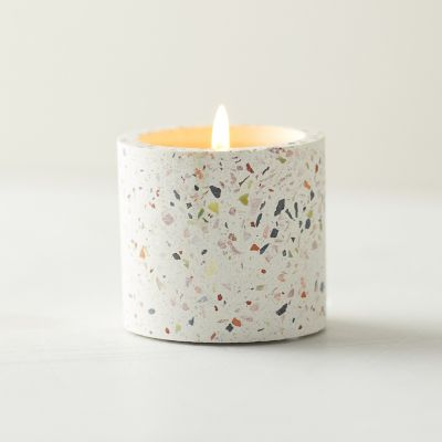 Linnea Terrazzo Candle, Sage