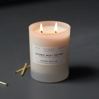 Sydney Hale Candle, Coconut Milk + Vetiver