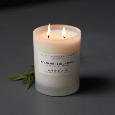 Sydney Hale Candle, Rosemary + Lemongrass