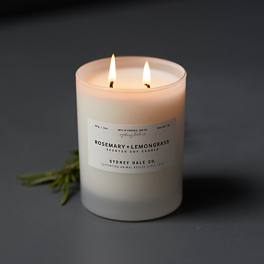 View larger image of Sydney Hale Candle, Rosemary + Lemongrass