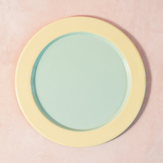 View larger image of Color Drop Enamel Plate, Extra Large