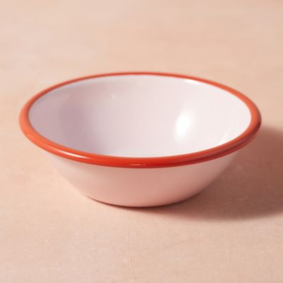 Color Drop Enamel Pasta Bowl