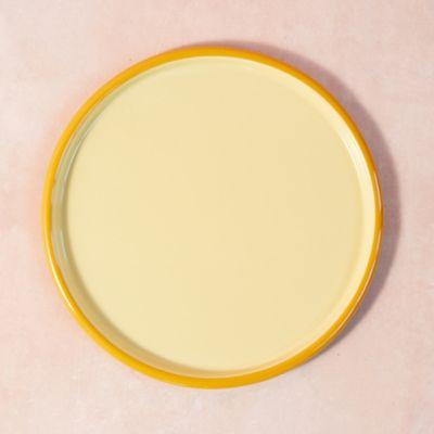 Color Drop Enamel Serving Tray