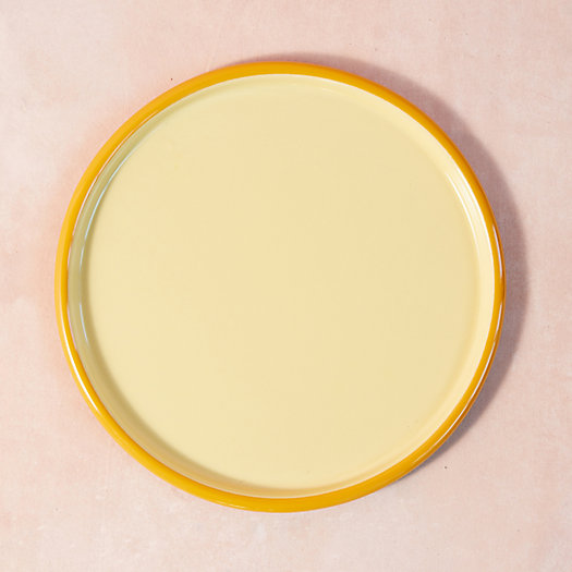 View larger image of Color Drop Enamel Serving Tray