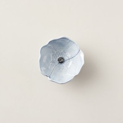 Blue Poppy Bowl, 6""