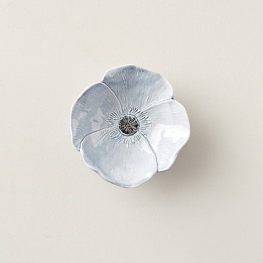 """View larger image of Blue Poppy Bowl, 7"""""""