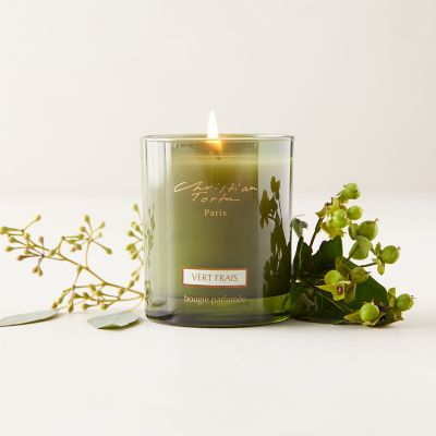 Christian Tortu Candle, Fresh Green