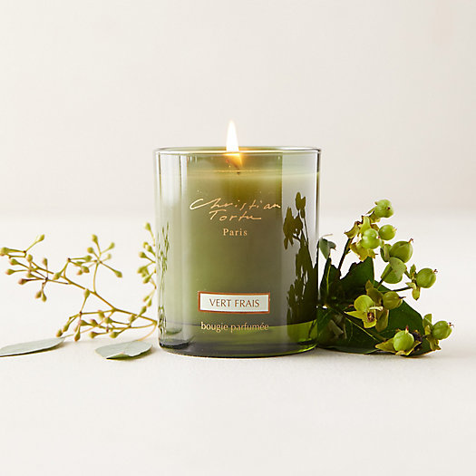 View larger image of Christian Tortu Candle, Fresh Green