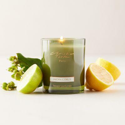 Christian Tortu Candle, Garden Citrus