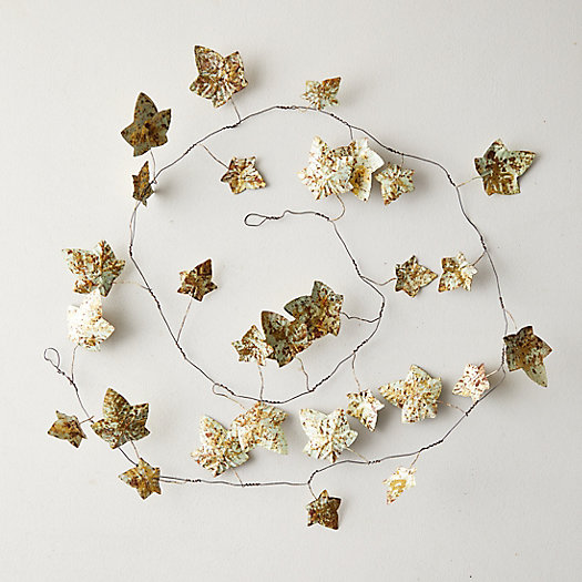 View larger image of Ivy Leaves Iron Garland