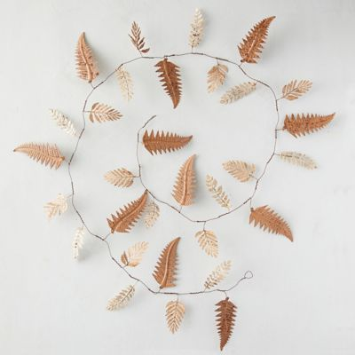 Fern Leaf Iron Garland