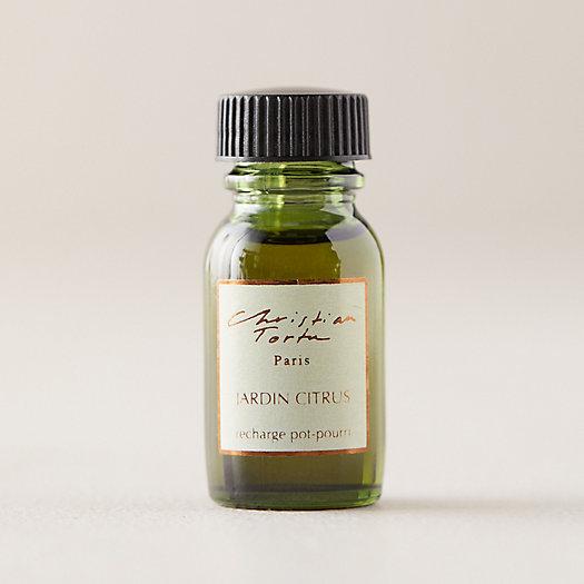 View larger image of Christian Tortu Refresher Oil, Garden Citrus