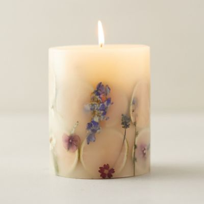 Pressed Botanicals Candle, Lavender